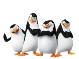 Skipper, Private, Kowalski, and Rico