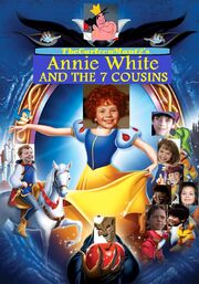 TheCartoonMan12's Annie White and the 7 Cousins Poster