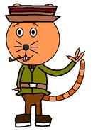 Mr Comquateater (secret agent) (pipe)