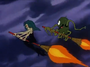 Revolta and Grim Creeper in Scooby Doo and the Ghoul School 04