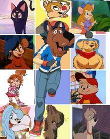 Scooby Doo's Friends