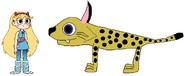 Star meets Bobcat