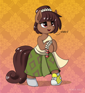 Anne Boonchuy as a pony