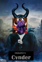 Cynder (Maleficent) Poster