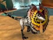 Dilophosaurus in Ice Age 3 Videogame
