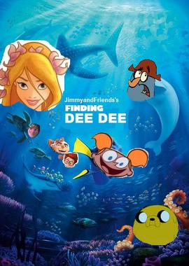 Finding dee dee poster