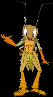 John as a grasshopper