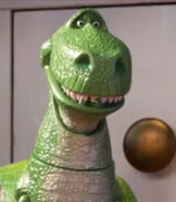 Rex in Toy Story 4
