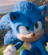 Sonic in Sonic the Hedgehog (2020)