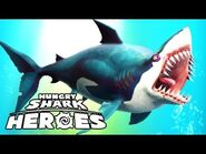 Hungry shark heroas great