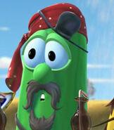 Larry the Cucumber in Jonah A VeggieTales Movie