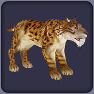 Saber-Toothed Cat (Blue Fang)