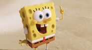 Spongebob finger point