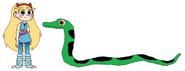 Star meets Green Anaconda