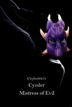 Cynder Mistress of Evil Poster