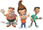 Jimmy Neutron Carl Wheezer and Sheen Estevez