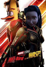 Ant-Bird and the Wasp-Fairy (Poster)