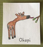 Okapi Begins With O