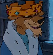 Prince John the Snobbish Lion