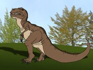 Rileys Adventures Tyrannosaurus