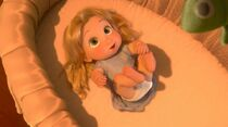 Baby Rapunzel (Tangled)