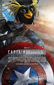 Captain Maverick The First Avenger Poster