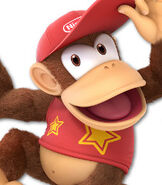 Diddy Kong in Super Smash Bros. Ultimate