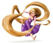 NEW Rapunzel hair