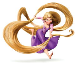 NEW Rapunzel hair