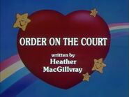 Order on the Court (Title Card)