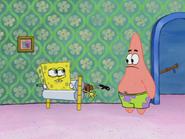 Patrick tell spongebob stuck wringer