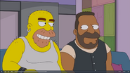 The Simpsons Grizzly Shawn and Barry