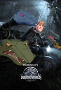 Jurassic World (2015) (Davidchannel's Version) Poster