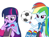 Rainbow Dash and Twilight Sparkle (EG)