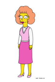 The Simpsons Maude Flanders