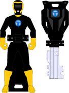Black Spy Force Ranger
