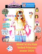 2020 RFART419 Pink Princess Avatar highlight