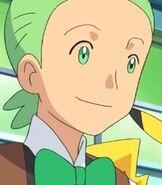 Cilan in Pokemon Mewtwo Prologue to Awakening