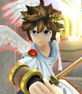 Pit in Super Smash Bros. for Wii-U and 3DS