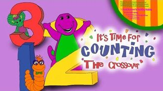 Barney It's Time For Counting The Crossover
