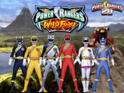 Power rangers 20 wild force by thepeopleslima-d66u08s