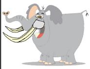 Shep's new tusks