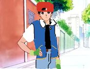 Darien as ash ketchum