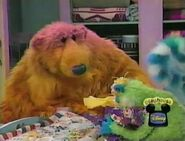 Treelo crying in Bear in the Big Blue House: Mouse Party