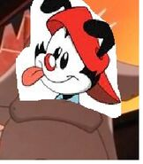 Wakko as Hugo