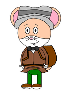 Mr. Danny Hamster (secret agent) (baby carrier)