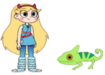 Star Meets Parson Chameleon