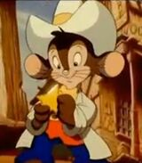Fievel Mousekewitz in An American Tail Fievel Goes West