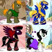 The Hunchback of Notre Dame characters ponified
