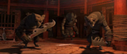Wolves from Kung Fu Panda 2